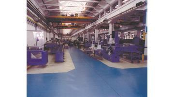 Floors for engineering industry