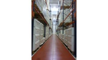 Flooring for warehouses
