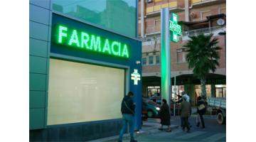 Display led per farmacie