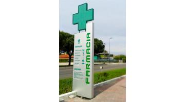 Totem for pharmacies