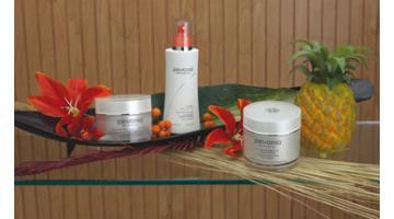 Prodotti cosmetici naturali per centri estetici