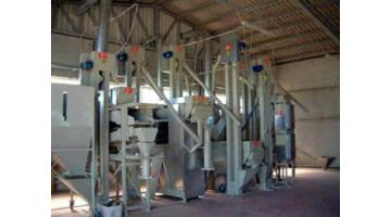 Processing equipment rice
