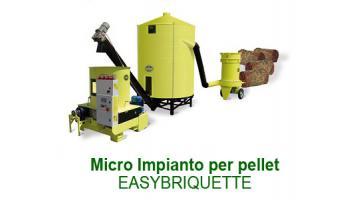 Microimpianto per pellet