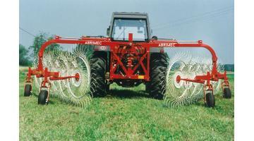 Ranghinatori a V per agricoltura