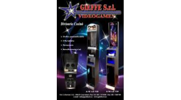 Partition for slot machines