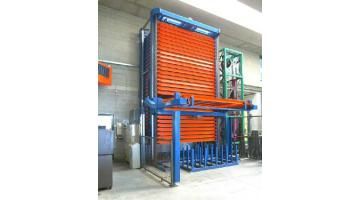 Automatic warehouse for plate