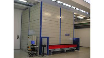 Warehouse for storage plate