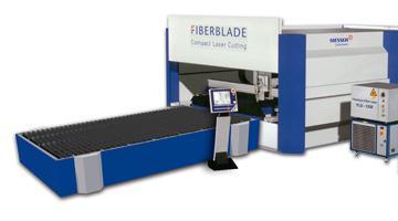 Laser a fibra per taglio lamiera
