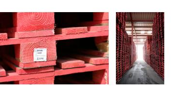 Red pallets for GDO