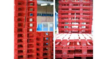 Red pallet pooling