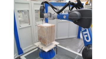 Robot lavorazione marmo
