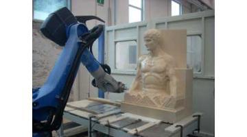 Robot lavorazione statue