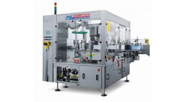 Industrial rotary labeling