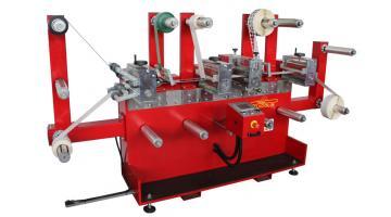 Fustellatrice rotativa per taglio materiale tecnico