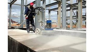 Floor grinding machines for concrete