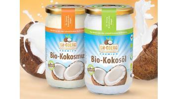 Prodotti naturali a base di noce di cocco