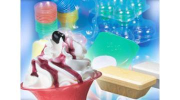 Contenitori in polistirolo per gelateria