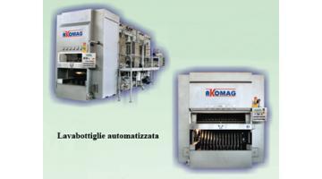 Automatic bottle washer