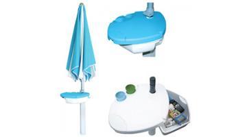 Accessories for beach umbrellas