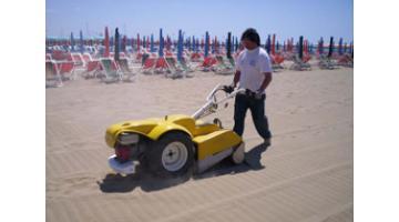 Машины очистки пляжа