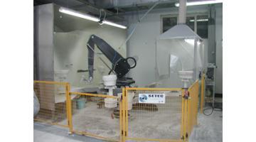 Robot di smaltatura