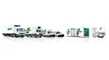 Furgoni e container refrigerati