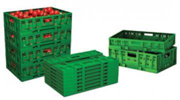 Contenitori In Plastica Pieghevoli.Cassette Pieghevoli Riutilizzabili Polymer Logistics