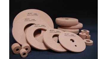 Lucidanti resinoidi periferiche per l'incisione e per il bordo a filo piatto o profilato