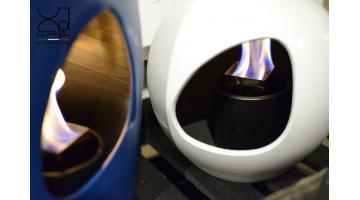 Biocamino di design per arredo interni