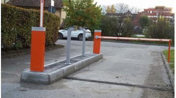 Sistema di controllo per accessi in aree camper