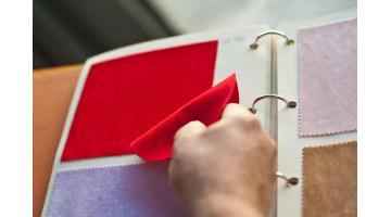 Gomma piuma floccata per packaging di lusso