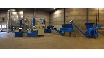 Impianti medio grande per il riciclaggio del rame da cavi elettrici T500
