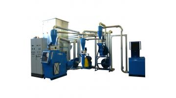 Impianto di medie dimensioni per riciclaggio rame T300