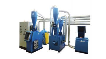 Impianto di grandi dimensioni per riciclaggio rame da cavi elettrici T1000