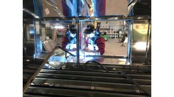 Produzione impianti per la smaltatura ceramica