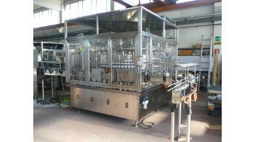 Riempitrice automatica per industria alimentare