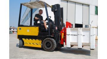 Rovesciatore idraulico MRS: facilità di stoccaggio
