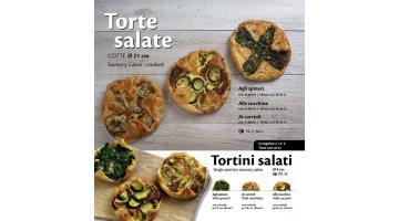 Torte salate surgelate