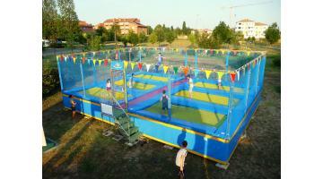 Trampolini elastici per parco giochi