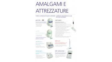 Amalgame dentali e attrezzature per la loro applicazione