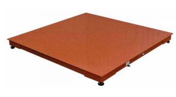 Piattaforma di pesatura in acciaio verniciato