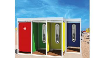 Cabina doccia modulare