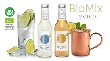 Organic fizzy drinks