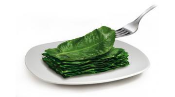 Bieta erbetta surgelata in foglia per foodservice