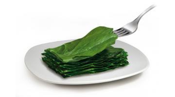 Cicoria surgelata in foglia per foodservice