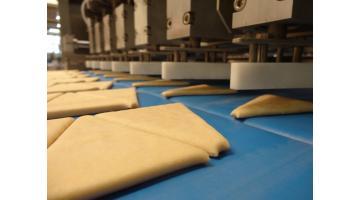 Linea produzione croissant