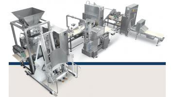 Linea per la produzione di pastelli sfoglia