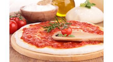 Linea produzione pizza