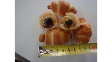 Macchina per mini croissant