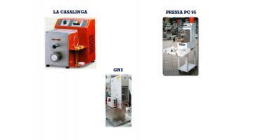 Machines for pasta factories